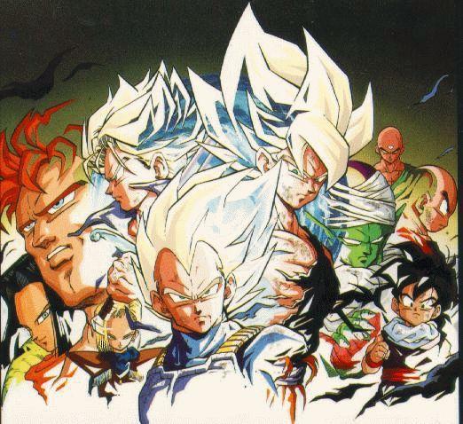 Dragon Ball Z GT AF